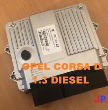 Opel Vauxhall Corsa D 1.3 Motorsteuergerät ECU 55571621 MZ Z13DTJ MJD6O3.S5
