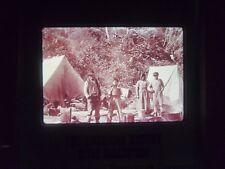 COMM Slide Photo Indian Camp AUK alaska 1895 winter and pond tent village town