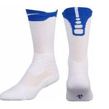 Nike Elite Versatility Crew Socks,  SX5705-100 White  Royal Blue XL Men 12-15
