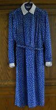 VINTAGE SAMANTHA STEVENS PETITES BLUE DRESS 36'' BUST