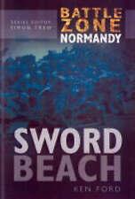 """AS NEW"" Sword Beach (Battle Zone Normandy), Ken Ford, Book"