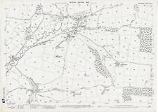 Shillingford old Devon map 24-12-1905
