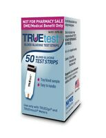 TRUEtest  Blood Glucose 50 Test Strips (ONE Box of 50) Exp: 01/2019