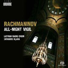 Latvian Radio Choir, S. Rachmaninov - All-Night Vigil [New SACD] Hybrid SACD