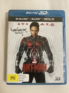 ANT-MAN (2015 Marvel) - 3D BLURAY + 2D BLURAY