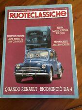 1990 Ruoteclassiche 33 Lancia Aurelia B 20 Renault Alfa Romeo 6C moto Triumph
