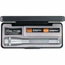 MAGLITE Mini, LED Flashlight, Adjustable Beam, 2 AA Batteries, Gray #SP22097
