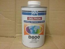 PPG D800 2K Clear Lacquer  1 litre  Deltron  Clearcoat
