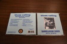Barrelhouse Chuck - Blues Calling CD 2006 OOP Rare!