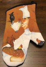 Oven Mitt. Fat Chefs. New. From Estate Sale