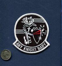 VF-154 BLACK KNIGHTS Any Knight Baby US NAVY F-14 TOMCAT Squadron Patch