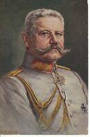 uralte AK Porträt Von Hindenburg //07