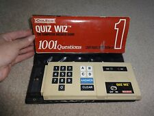 Vintage Coleco Quiz Wiz Computer Answer Game #1 Untested