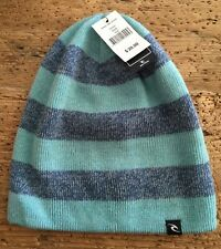 Rip Curl Grind Time Reversible To Black Beanie Hat