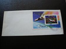 LIBERIA - enveloppe 1978 (bloc) (cy65)