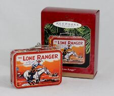 Hallmark Keepsake Ornament - The Lone Ranger Lunch Box - Pressed Tin - 1997