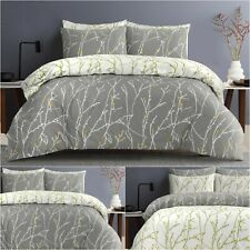 Duvet Cover Set 100% Egyptian Cotton Quilt Covers Bedding Sets Double King Size