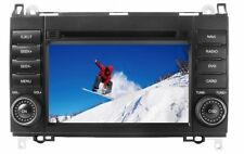 Mercedes Media Station Negro TFT-LCD Navigation DVD Receiver panel 7""