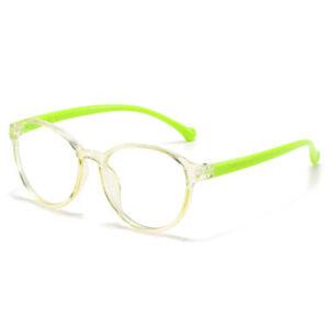 Baby Anti blue Light Soft Round Frame Glasses For Children Blue-blocking Glass