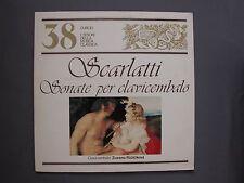 """LP 12"""" 33 rpm 1982 Nº 38 I TESORI DELLA MUSICA CLASSICA  - SCARLATTI  TCMC-38"""