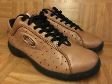 RARE🔥 Oakley Tactical Brown Perf Leather Multi-Sport Driving Shoes Sz 8 Men's