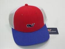 Vineyard Vines Men's High Profile Whale Logo Adjustable Snapback Trucker Hat TOU