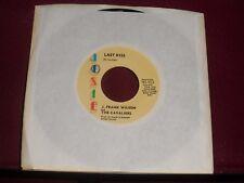 "J. FRANK WILSON & THE CAVALIERS ""Last Kiss"" Josie 923"
