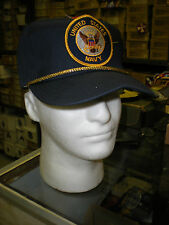 US NAVY BASEBALL CAP - DARK BLUE - MADE IN THE USA