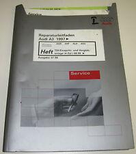 Werkstatthandbuch Audi A3 Typ 8L TDI Einspritzanlage 4 Zylinder ab Baujahr 1997!
