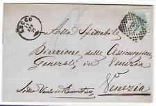 1871-ITALY-IT REGNO- VENTI CENTESIMI NUMERALE 97 LECCO