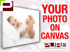 Your Photo On Stretched Canvas A2