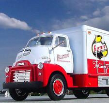LAST RARE - RIP FALSTAFF BEER Truck #1 - 1952 GMC CabOver -  First Gear