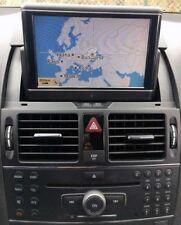Mercedes C-Klasse W204 S204 COMAND APS NTG4 Navigation Kit NAVI MONITOR DISPLAY