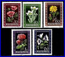 HUNGARY 1950 FLOWERS SC#906-10 MNH CV$13.50 (HUB) DID YOU SEE THE BEST OFFER??