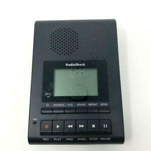 RadioShack Desktop Digital Recorder Model 1400214 NO AC Power Cord Tested
