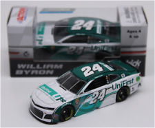NEW NASCAR 2018 WILLIAM BYRON #24 UNIFIRST 1/64 CAR