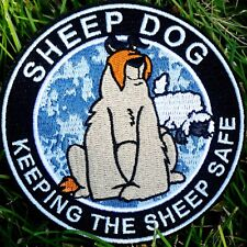 ZOMBIE HUNTER TACTICAL: SHEEP DOG~SWAT ED~PATCH W/VELCRO®~PROTECTING SHEEP!