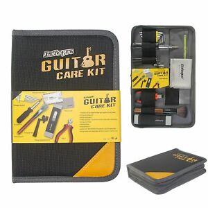 UK Guitar Care Cleaning Repair Tool Kit Luthier Setup Maintenance Tools Set