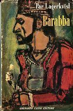 Lagerkvist Par BARABBA Ed. Casini 1952