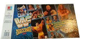 MB Games WWF Wrestling Challenge Board Game 1991