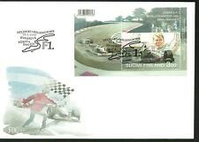 FINLAND FDC - F1 WORLD CHAMPION Mika Hakkinen M/S 1999