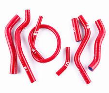 FOR Honda CR125 CR125R 1990-1997 1994 1995 1996 1997 silicone radiator hose red