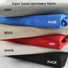 """Suede Fabric Material Microsuede Upholstery Repair Replace Multi-Function 60""""W"""