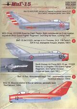 Print Scale Decals 1/72 MIKOYAN MiG-15 FAGOT Russian Jet Fighter