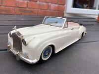 Bandai Rolls Royce Silver Cloud Convertible - Excellent Vintage Original 1960s