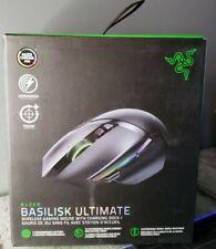Razer Basilisk Ultimate Hyperspeed Wireless Gaming Mouse Chroma RGB NEW NO DOCK