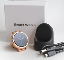 Motorola Moto 360 Smart Watch 2nd Gen 42mm Rose Gold Women Stainless Steel Band