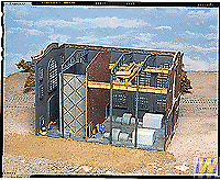 More details for walthers cornerstone northern light and power powerhouse interior building kit
