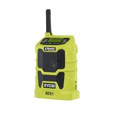 Ryobi ONE+ BLUETOOTH RADIO 18V Wireless, USB Charger & 20 Hrs Run Time R18R-0