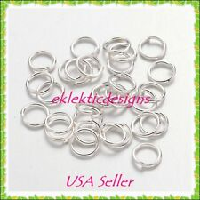4mm 200pcs Silver Plated Jump Rings Jewelry Findings Open Split Earring Necklace